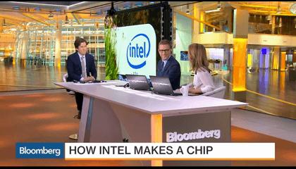 Intel Processor Making.