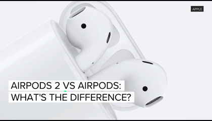 Apple AirPods 2 Vs AirPods 1.