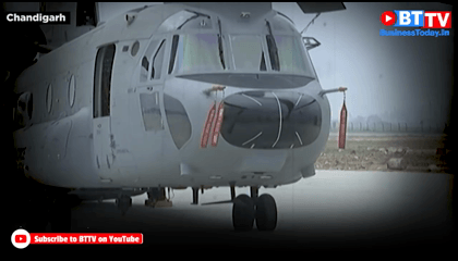 Boeing Co.s Chinook Helicopter Now A Part Of Indian Air Force  Business Today