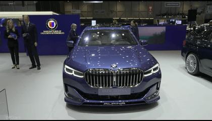 New Alpina B7 - BMW 7 Series    0-100 Km/h Takes Just 3.6 Seconds.