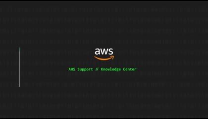 AWS Knowledge Center