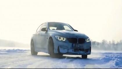 BMW M4 Drifting.