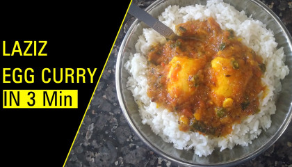 Laziz Egg Curry   Egg Recipe