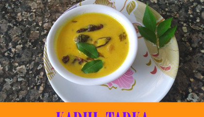 Punjabi Tadka Kadhi
