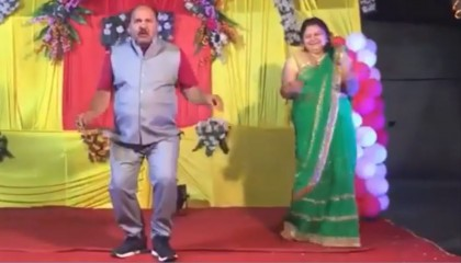 Uncle With Govinda Style Dance. Full Video.
