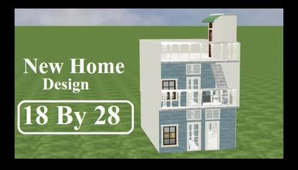 18 by 28 house plan according to vastu