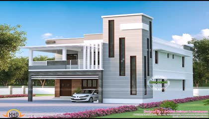 House Front Elevation Designs For Triple Floor