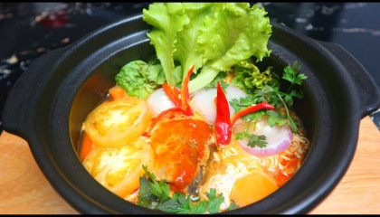 Noodle recipes by Easy Food Recipes - how to have noodle soup with egg at home