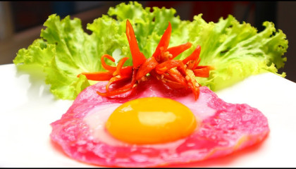 Red egg recipes by Easy Food Recipes - how to have a red egg for breakfast