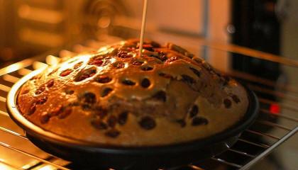 Don't eat only grape jam, you like this cake  roasted cake grapes jam taste