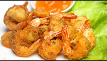 The best and easy crispy fried shrimp recipe - how to make fried shrimp