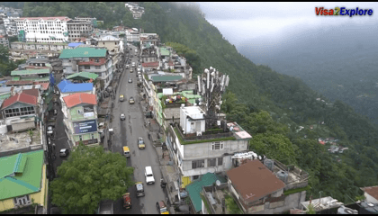 Sikkim Tourism Video ( India ) Travelling Through North East India