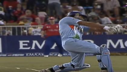 Yuvraj Singh 6,6,6,6,6,6 In 1 Over