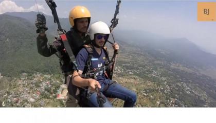 Paragliding in Bir Billing  Himachal Pradesh (Cost) Take Off  Landing