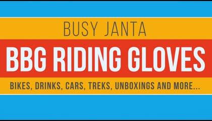 Biking Brother Hood - Cold & Waterproof touring gloves Unboxing & waterproof test
