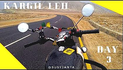 Ladakh Ride  Day 3   Kargil to Leh  Namik La  Fotu La Lamayuri