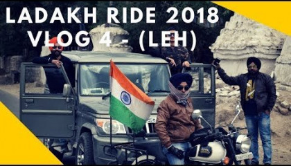 Ladakh Ride  Day 4  Magnetic Hill  Pathar Sahib  Leh  Shanti Stupa Hall Of Fame