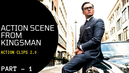 Agents Fight on the Road - Massive Fight - Kingsman/Part - 1