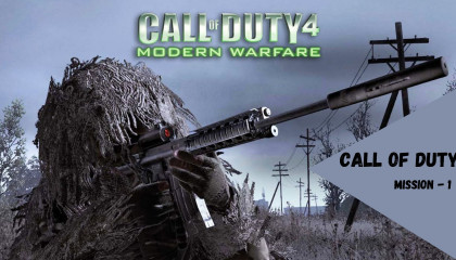 Call Of Duty - 4/ Fight on the Ship - Mission 1
