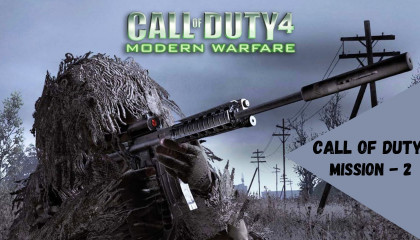 Call Of Duty - 4/ Fight on the Ship - Mission 2