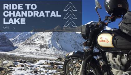 Ride to Chandratal Lake - Part 1