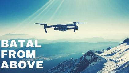 Ride to Chandratal Lake - Drone Shot/Part 3