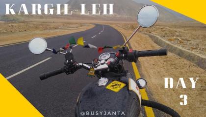 Ladakh Ride - Day 3 - Kargil to Leh