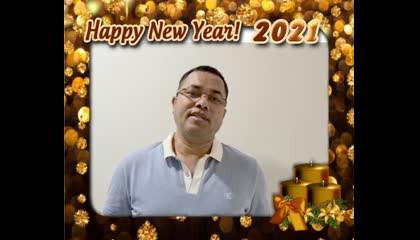Patharkandi MLA Krishnendu Pal wishes New Year to Karimganj district residents