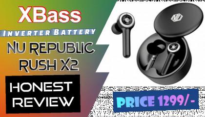 Nu Republic Rush X2 TWS UNBOXING / Reviews / ? Best Earbuds Under 1500