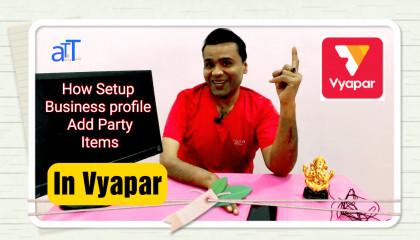 How to use Vyapar APP Tutorial 1 in Hindi  Anshultgtalk