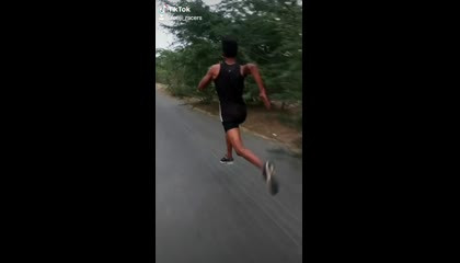 Indian Army running