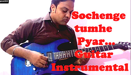 Sochenge Tumhe Pyaar  || Deewana || Guitar Instrumental
