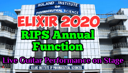 Live Guitar Playing | RIPS Annual Function | ELIXIR 2020