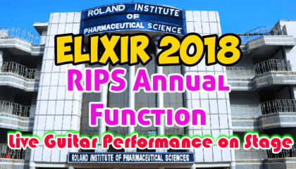 Live Guitar Playing | RIPS Annual Function | ELIXIR 2018