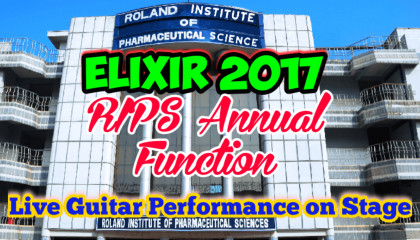 Live Guitar Playing | RIPS Annual Function | ELIXIR 2017
