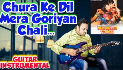 Chura Ke Dil Mera | Main Khiladi Tu Anari | Guitar Instrumental