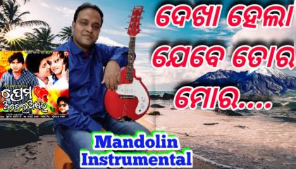 Prema Adhei Akhyara | Title Song- Odia Movie | Mandoline Instrumental
