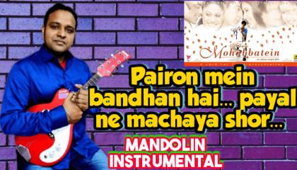 Pairon Mein Bandhan Hai   Mohabbatein   Mandoline Instrumental