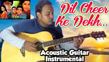 Dil Cheer Ke Dekh  |  Rang | Guitar Instrumental
