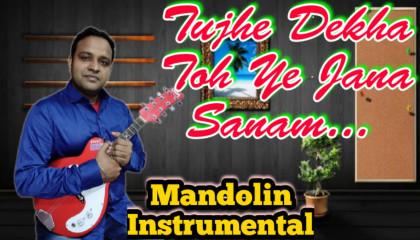 Tujhe Dekha Toh Ye Jana Sanam | DDLJ | Mandolin Instrumental