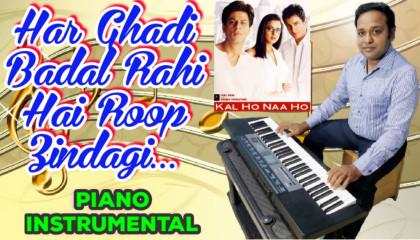 Kal Ho Na Ho   Title Track  Piano Instrumental