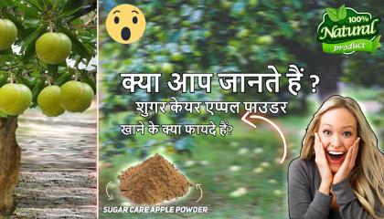 Elephant Apple Powder for Diabetics  sugar care apple powder
