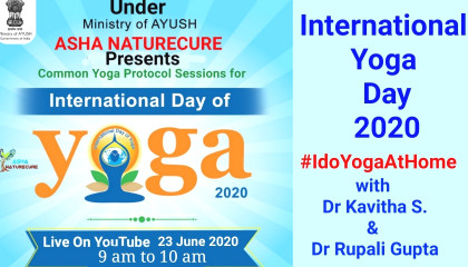 my life my yoga with Dr Kavitha S