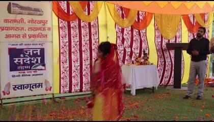 Holiya me Udey re Gulal Dance by Arti Tomar @ Holi Ke Rang - Jansandesh Ke Sang - Natranjali Theater