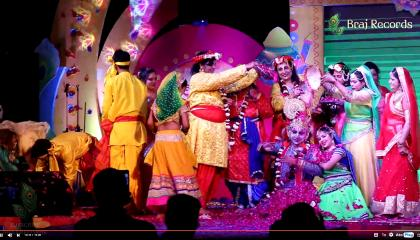 Phoolon ki Holi फूलों की होली @ Falgun Mahotsav Agra 2021 by Raavi Events Agra // BRAJ RECORDS