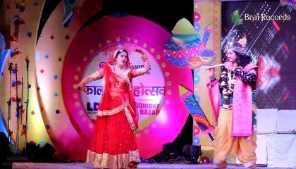 Krishna Love - Satyabhama & Rukmani Play सत्यभामा और रुक्मणि नाट्य // BRAJ RECORDS