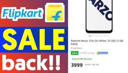 Flipkart upcoming sale    Flipkart sale back again