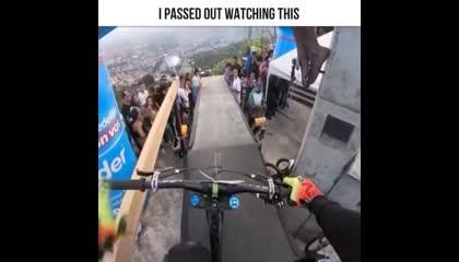 Wow? Amazing Bycicle Stunt