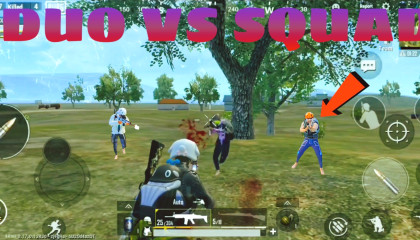 DUO VS SQUAD IN ACE TIER IS NOT SO EASY TO WIN PUBG MOBILE LITE FEAT SOUL KING