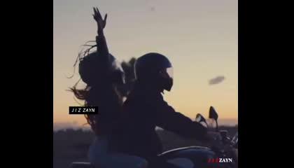 A long drive romantic video O TERE SANG YARA ATIF ASLAM SONG